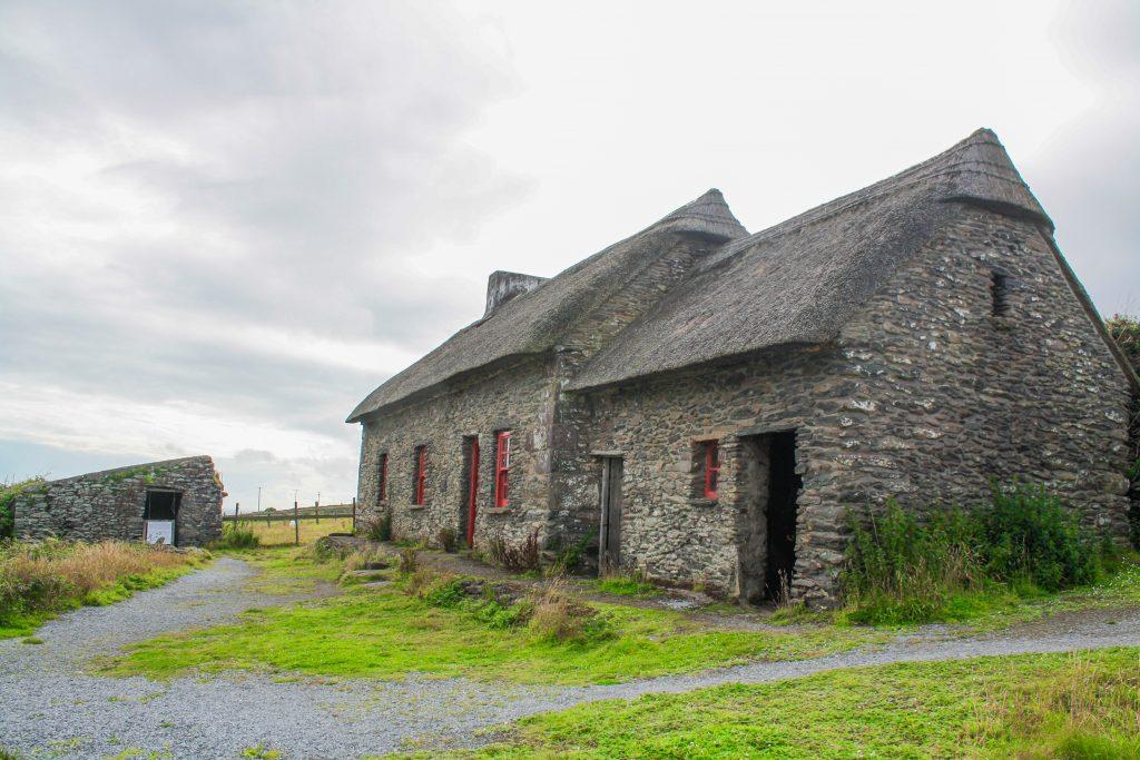 casa de la hambruna en Connemara