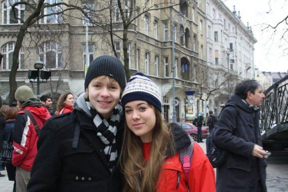 Hungría con un polaco