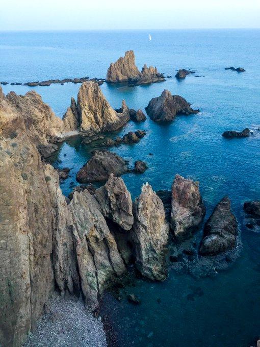 Almería que ver arrecife de las sirenas