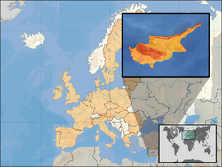 mapa chipre post