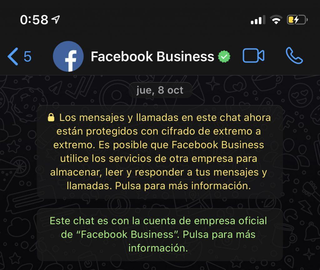 contactar con facebook via whatsapp @viajareslou