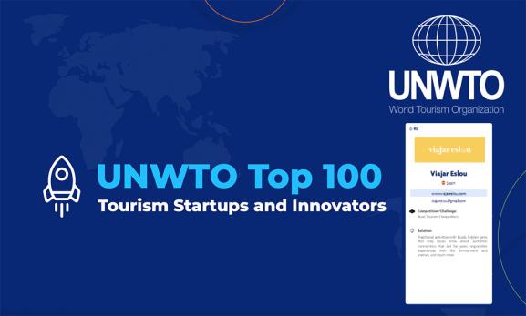 UNWTO 1 de las top 100 startups mas innovadoras