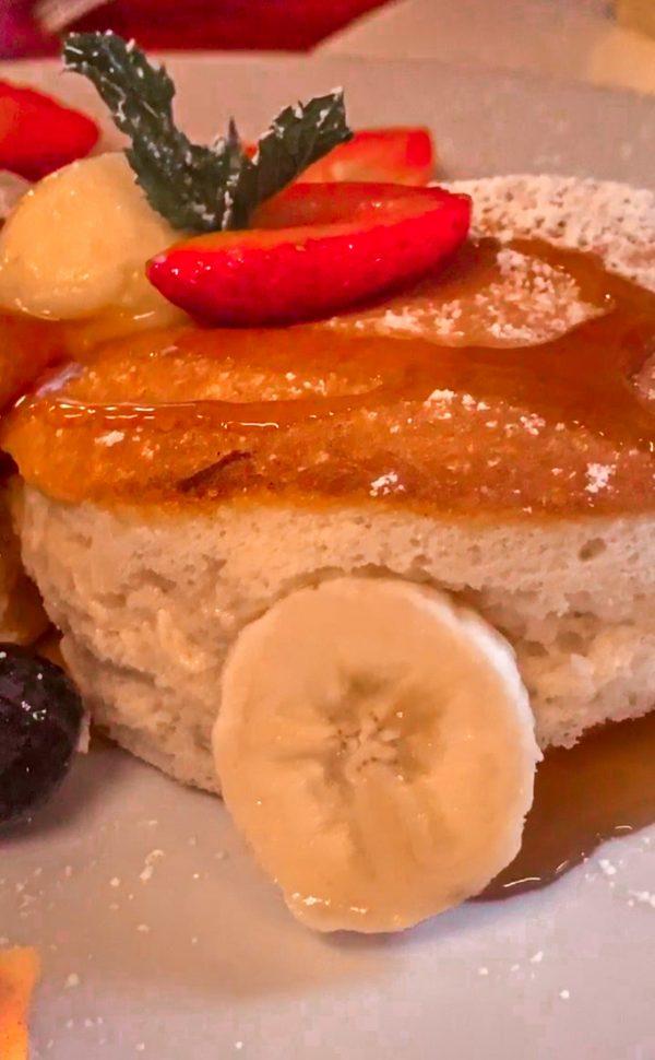 fluffy pancake en panda patisserie